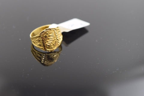 "22k 22ct Solid Gold ELEGANT BABY KIDS Ring ""RESIZABLE"" size 3 R459"