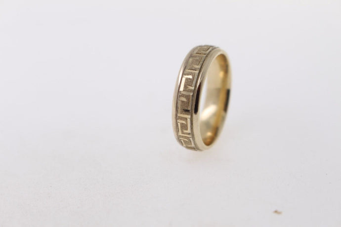 22k 22ct Solid Gold ELEGANT Men Ring Band SIZE 10
