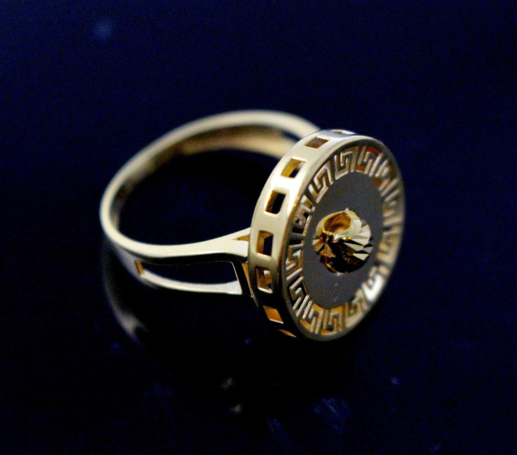 21k 21ct Gold Ladies Designer Ring SIZE 8.5
