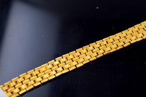 22k 22ct Solid Gold DESIGNER MENS BRACELET LENGTH 8.0 in B575
