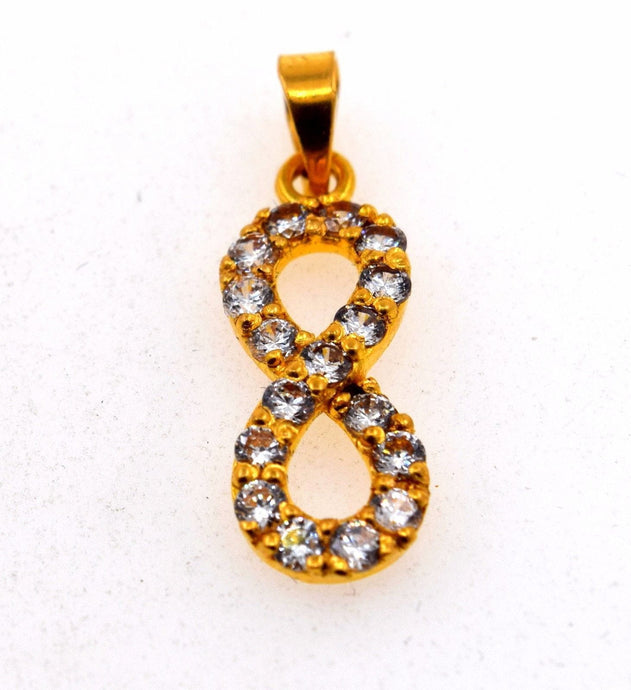 22k Jewelry Solid Gold ELEGANT Charm LOCKET Pendant P567