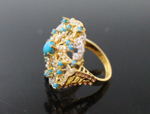 "22k 22ct Solid Gold ELEGANT Antique Ladies Stone Ring SIZE 7.5 ""RESIZABLE"" r1520 