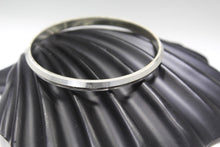 1PC HANDMADE men b42 Solid Sterling Silver 925 size 2.5 inch kara Bangle Cuff