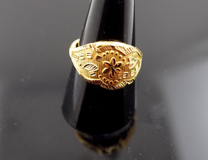 22k Jewelry Solid Gold ELEGANT Men Ring