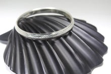 1PC HANDMADE Men b26 Solid Sterling Silver 925 size 2.75 inch kara Bangle Cuff