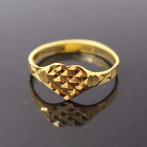 "22k 22ct Solid Gold BEAUTIFUL BABY CHILD Ring SIZE 2.7 ""RESIZABLE"" r1202 