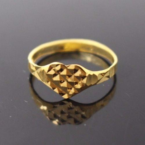 22k 22ct Solid Gold BEAUTIFUL BABY CHILD Ring SIZE 2.7