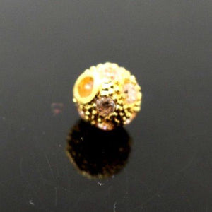 22k 22ct Solid Gold 3D ROUND ZIRCONIA CLUSTERED Pendant LOCKET p937
