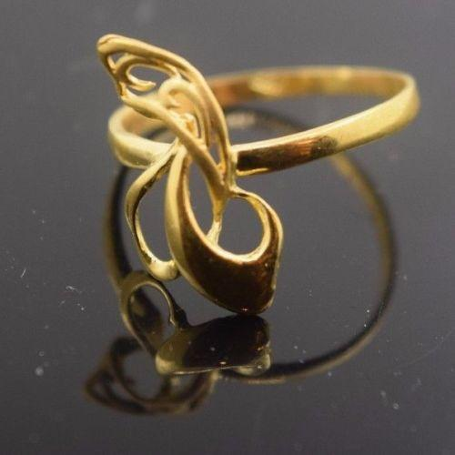 22k 22ct Solid Gold ELEGANT Ring with Box