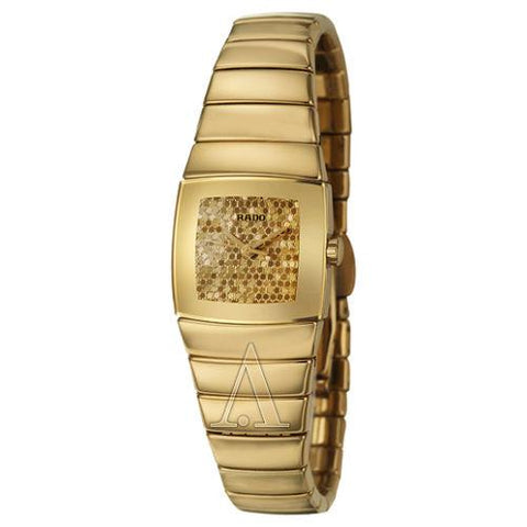 Original RADO R13776252 WOMEN'S SINTRA WATCH Gold