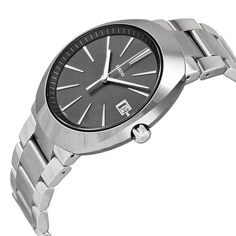 RADO D Star Grey Dial Stainless Steel and Ceramos Bracelet Watch