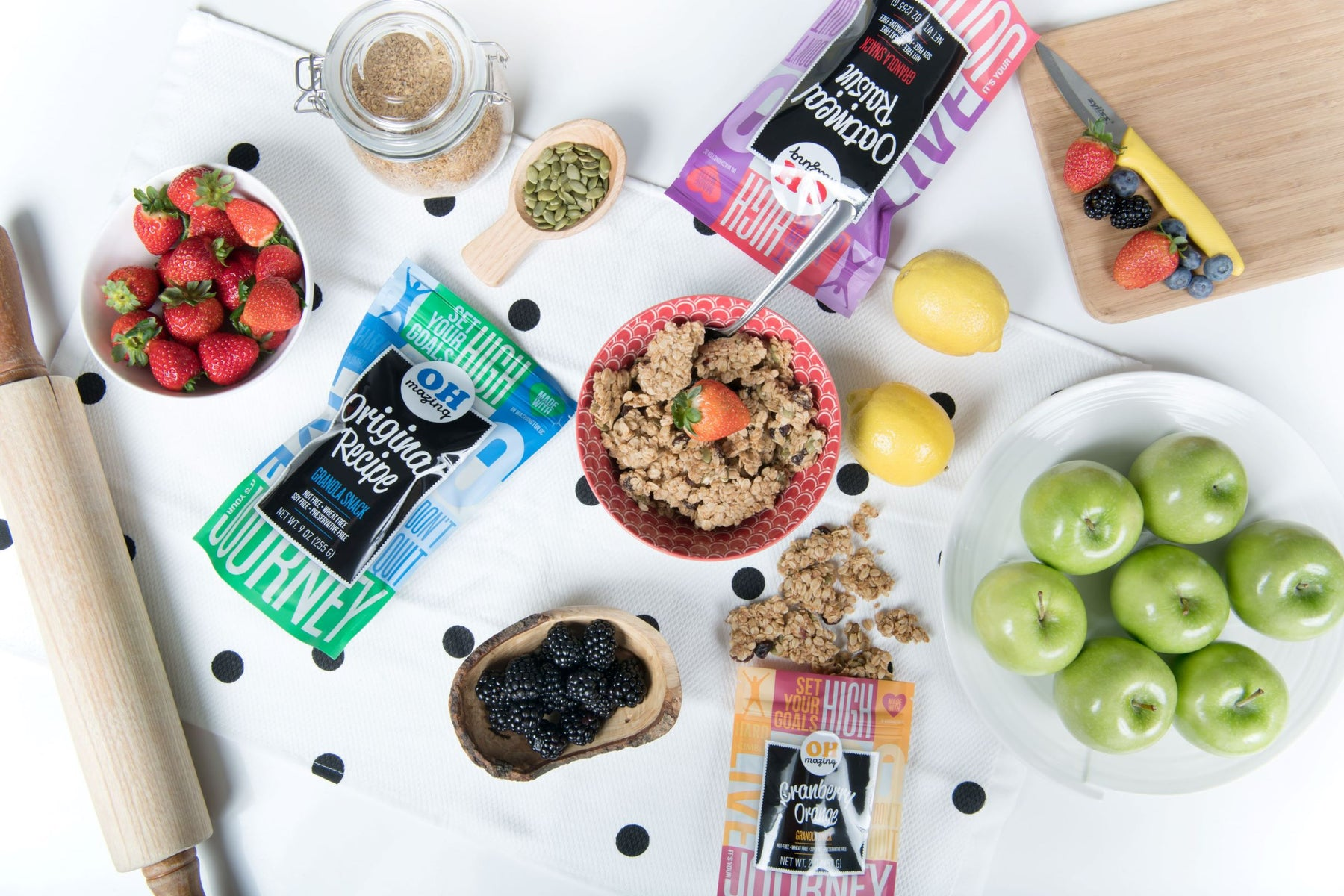 Oh-Mazing Snackable Granola