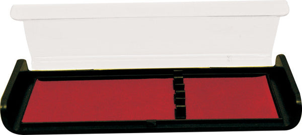 Black and red triple pen case, Office - Presence