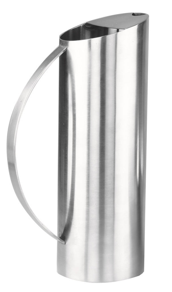 Stainless steel water jug mirror finish (26.5x8.5cm)