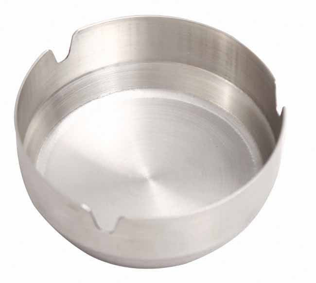 Stainless steel table ashtray