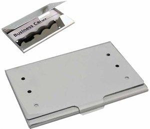 Aluminium business card holder 'spot', Business Card Holder - Presence