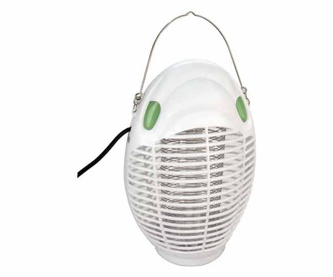White indoor mosquito and insect repellant lantern