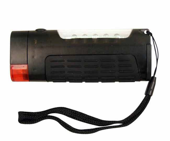 Charcoal 3-in-1 torch emergency light and mini lantern (batteries not included)