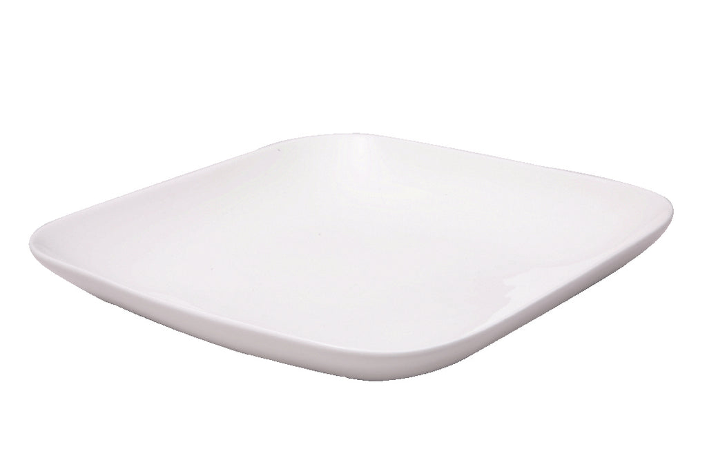 White Fine Porcelain Square Side Plate