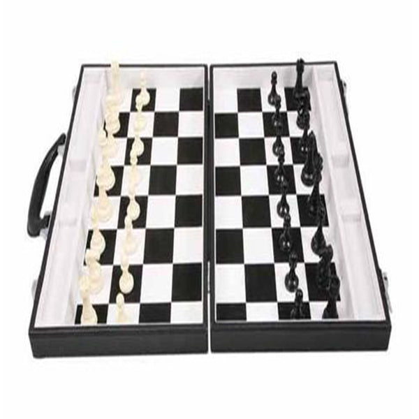 Executive 'chess' game in pvc attaché case