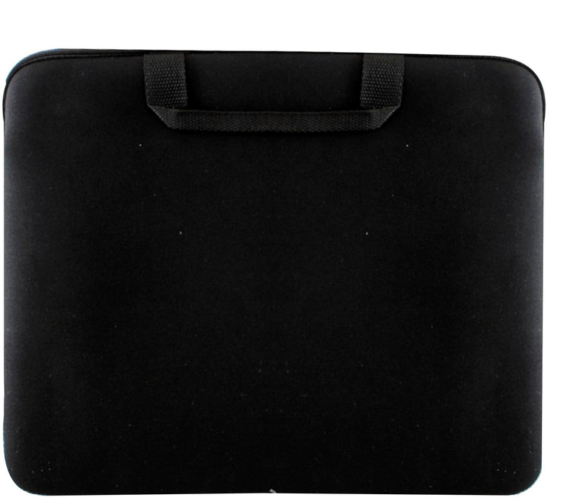 Black 15 inch neoprene laptop case with handle, Computer Accessories - Presence
