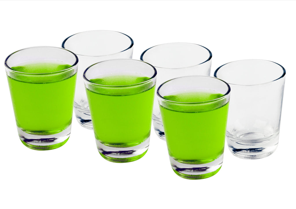 Clear shooter glasses (set of 6)