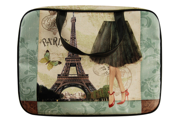 Ladies laptop bag with carry handles