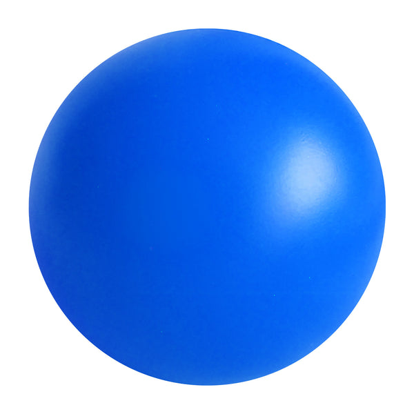 Blue PU round stress ball