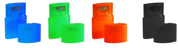 Travelling alarm clock (available in assorted colours)