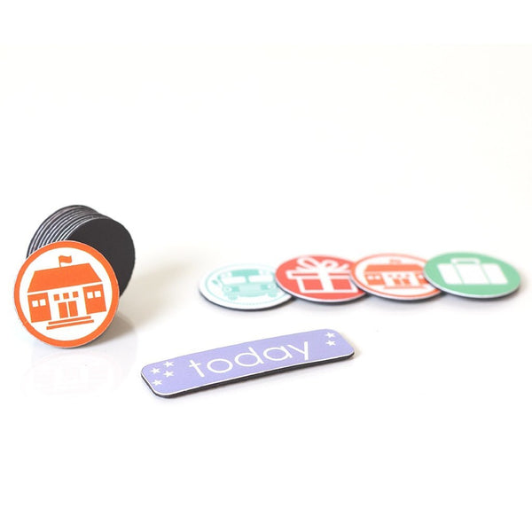 """My Lil' Schedule"" Accessory Pack for Co-Parenting Calendar - Enlightened Littles, Inc.  - 1"