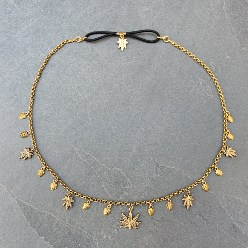 Boho Heady Headchain (Gold)