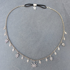 Boho Heady Headchain (Silver) - Blunted Objects