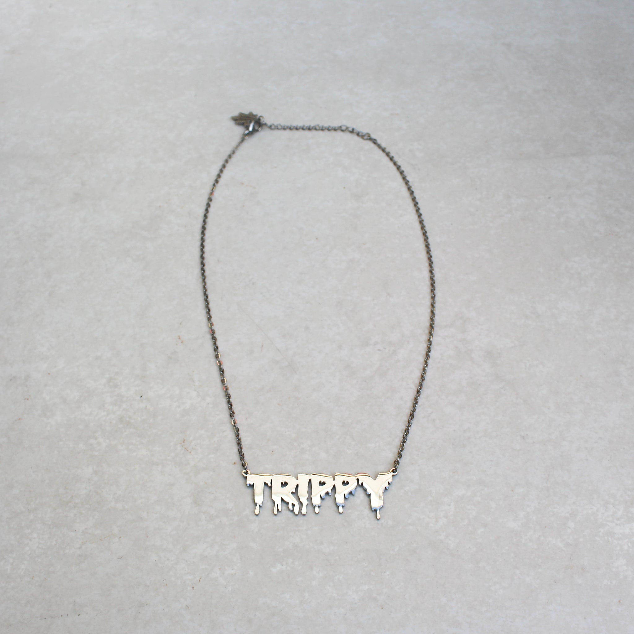 Trippy Treez x Blunted Objects Statement Necklace - Silver - Blunted Objects