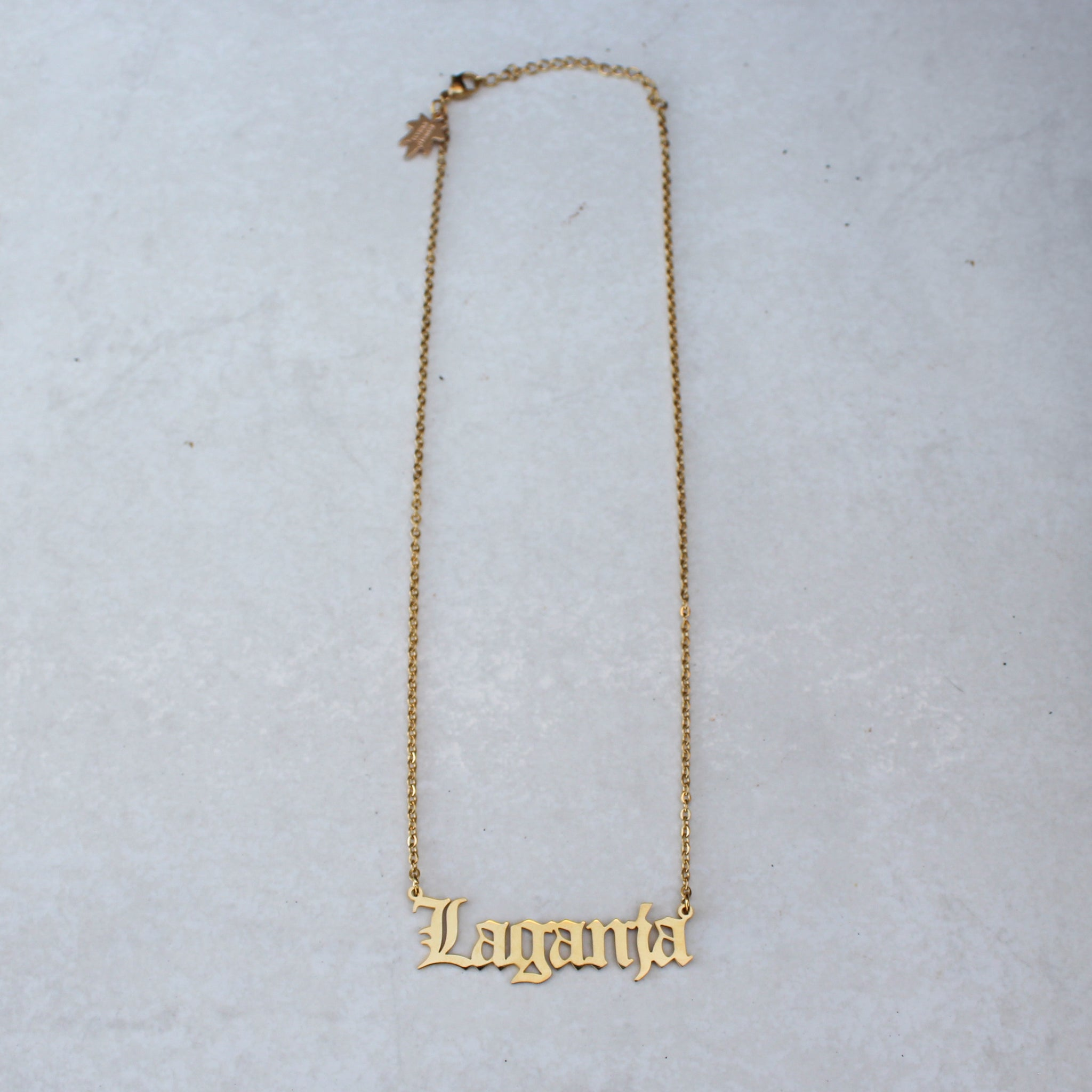 Laganja Estranja x Blunted Objects Gold Statement Necklace - Blunted Objects