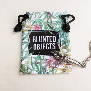 Fuck Ya'll Roach Clip Holder Necklace - Blunted Objects