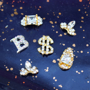 B Is For Blunted Bling Nail Charm Set - Blunted Objects
