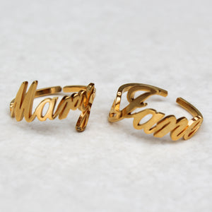 Mary Jane BFF Statement Ring Set - Blunted Objects