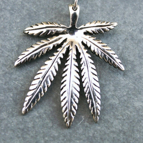 Creeper High Leaf Pendant Necklace