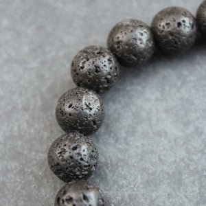 Heavy Hit Beaded Bracelet (Lava) - Blunted Objects