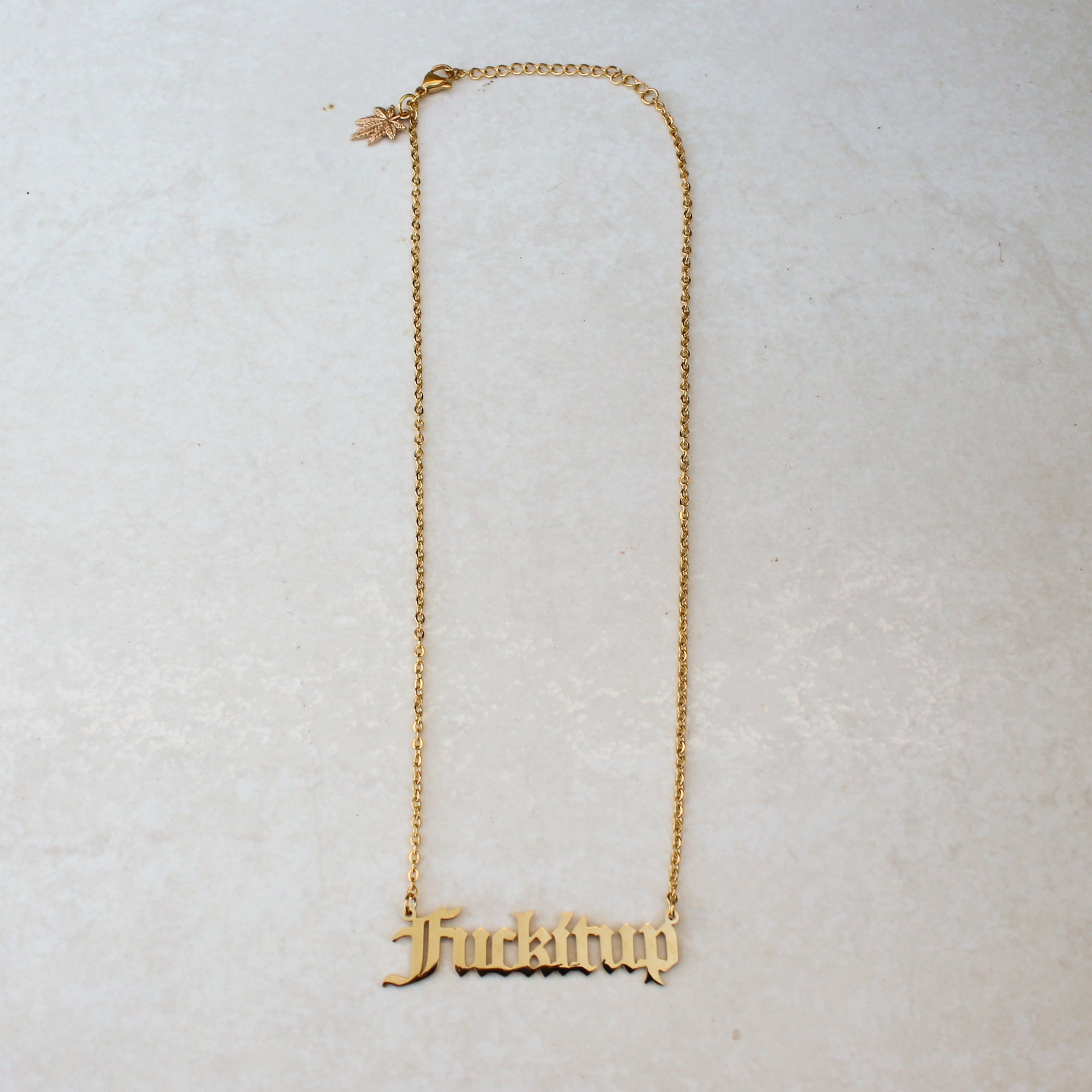 Fuck It Up Statement Necklace - Blunted Objects