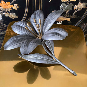 Lily Flower Ashtray With Removable Petals