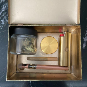 Vintage Floral Stash Box