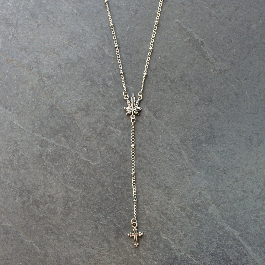 Daily Ritual Delicate Rosary (Silver) - Blunted Objects