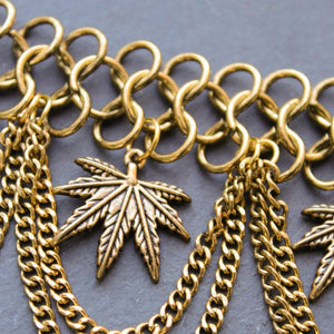 Trap Queen Dynasty Collar Necklace - Blunted Objects