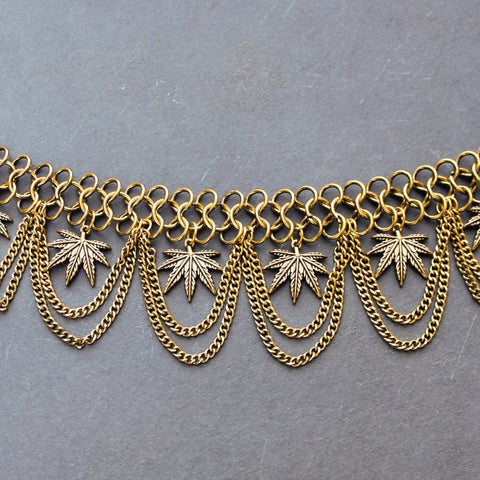 Trap Queen Dynasty Collar Necklace