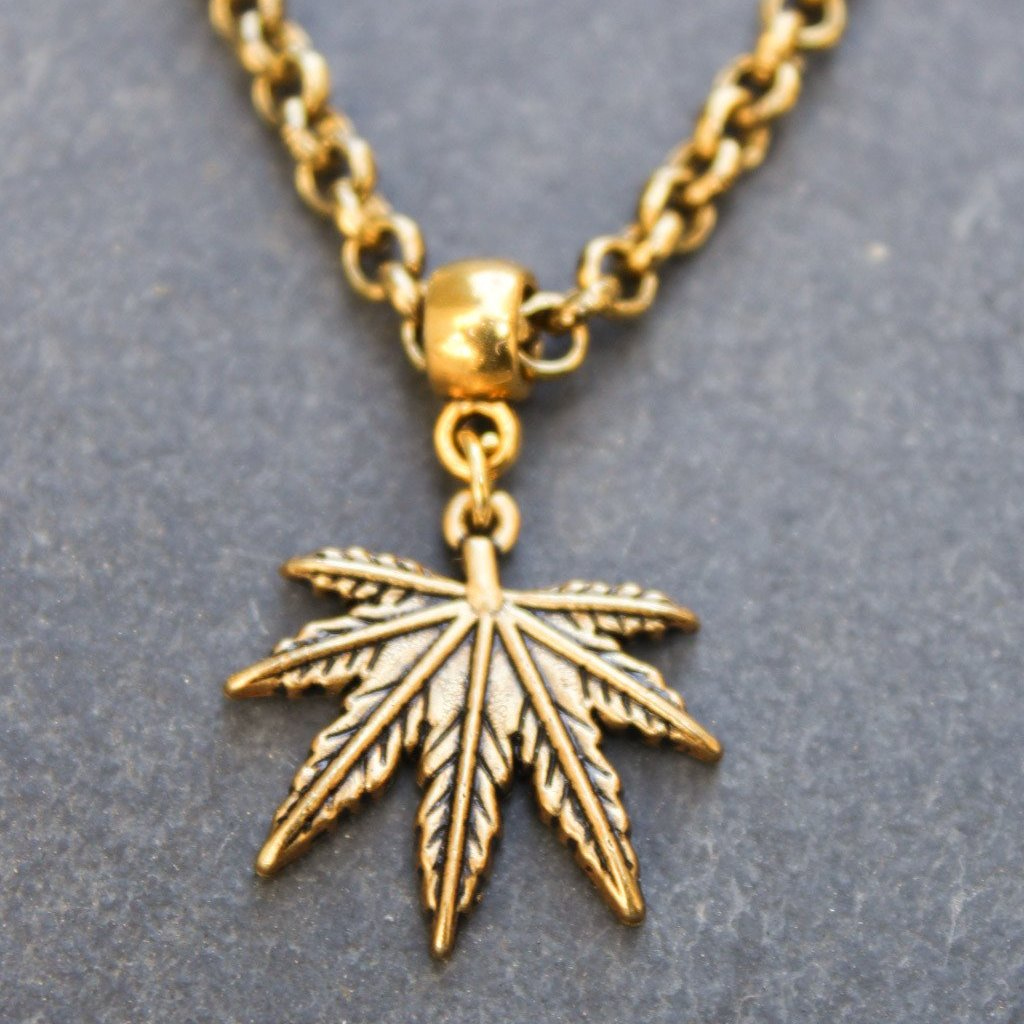 shop necklace online leaf iridescent natural maple museum history
