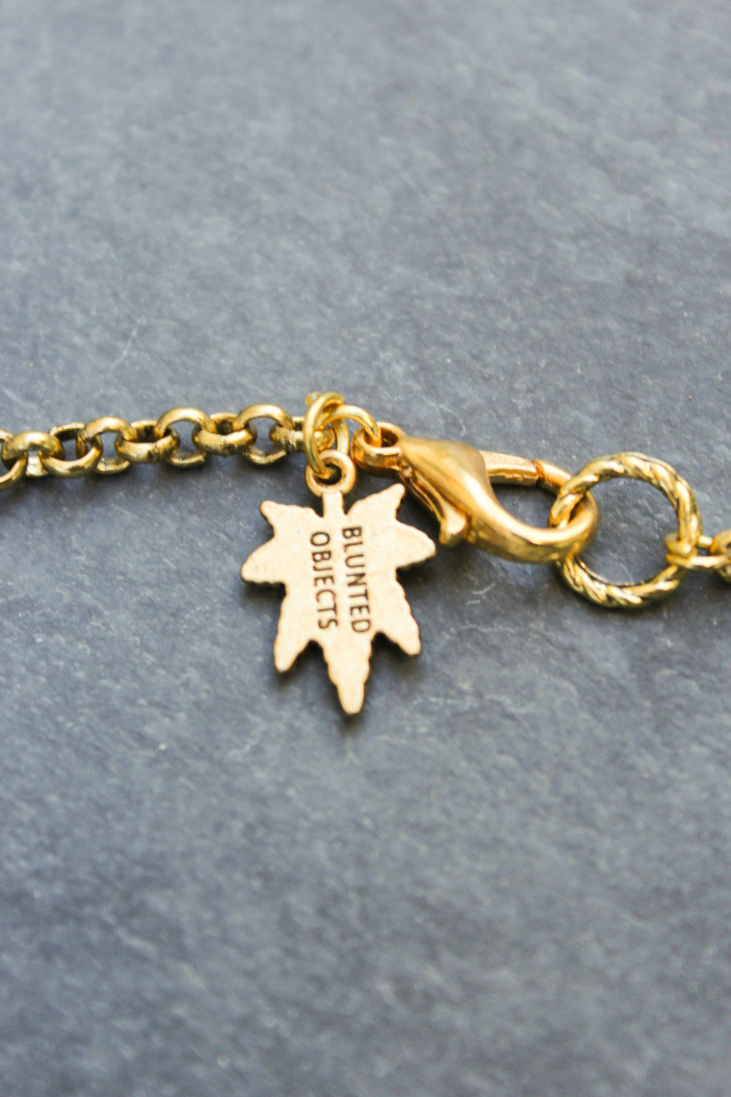 Chronically Ill Leafs Necklace (Gold)