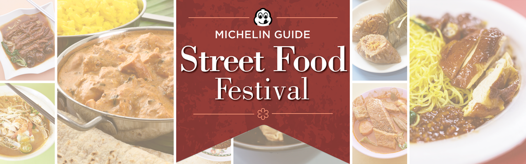 Gaelle: 1 x Ticket to Michelin Street Food Festival (14Apr/830pm)