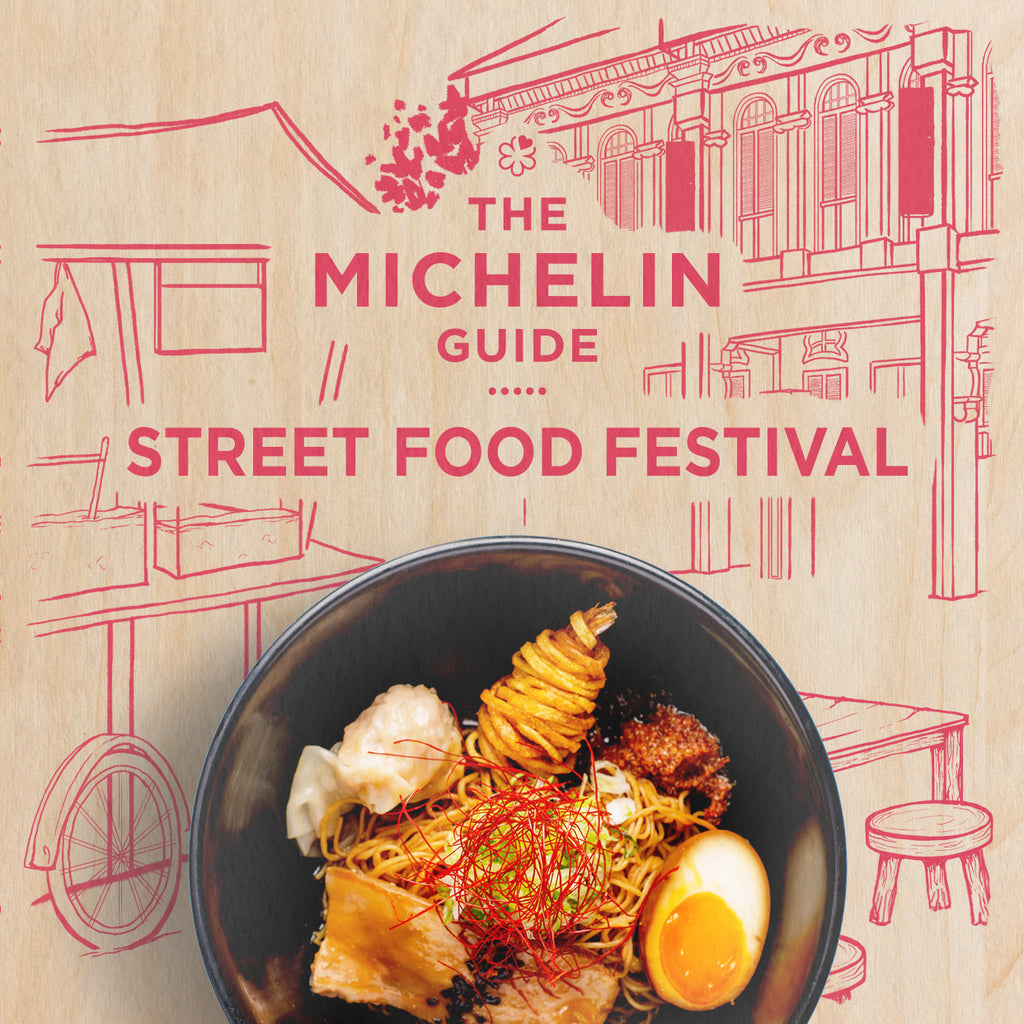 Tiana: Tickets to Michelin Street Food Festival (1 April / 6 pm) First Session