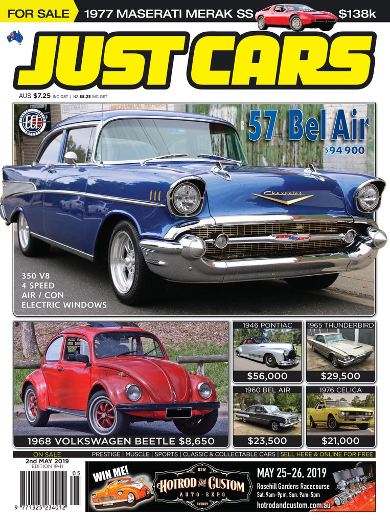 JUST CARS 12 month Subscription